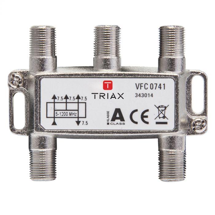 Uitzonderlijk Triax VFC 0741 4-weg splitter (1.2 GHz) | Bombeeck Digital TR38