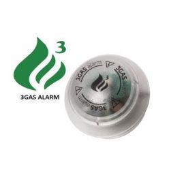 3GAS 12V Gasalarm Round Propane,Butane,LPG,Koolmonoxide,k-o