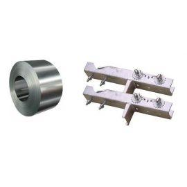 BCK Schoorsteen SET 2xBeugel + 2x Band 5mtr