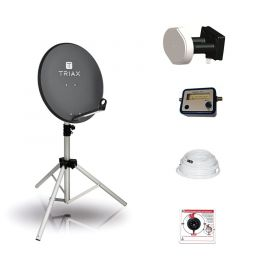 BCK TravelSat TS65A/DS Recreatieset Duo Single LNB