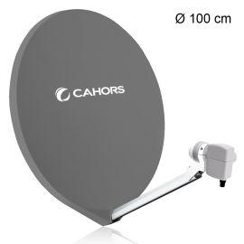 Cahors SMC 100 schotelantenne antraciet (0140881)