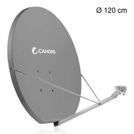 Cahors SMC 120 schotelantenne antraciet (0140898)