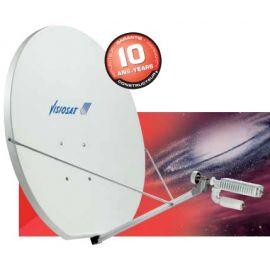 Cahors SMC 120 Dual Optics VSAT RX/TX systeem+AZ/EL Mount