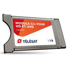 M7 CAM-701 CI+ module met geïntegreerde Télésat smartcard