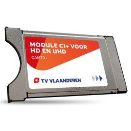 M7 CAM-701 CI+ module met geïntegreerde TV Vlaanderen smartcard