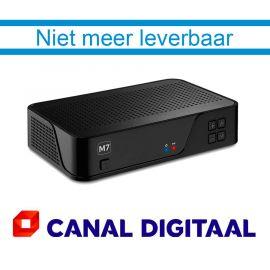 M7 MZ101 HD satellietontvanger met geïntegreerde Canal Digitaal smartcard