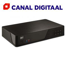 M7 MP201 met 500 GB harddisk en geïntegreerde Canal Digitaal smartcard