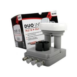 M7 / Inverto DUO Quad LNB 19.2+23.5 60cm 4.3gr