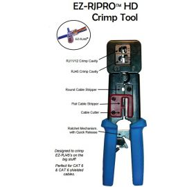 EZ-RJ45 Pro HD Crimptool