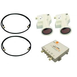 Global Invacom FibreIRS ODU16KIT 2SAT, 2LNB+ODU16