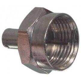 F-connector afsluitweerstand