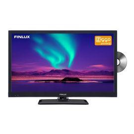 """Finlux FLD2422 24"""" 12V LED HDR DVD DVB-T/C CI+ Ziggo Cert."""