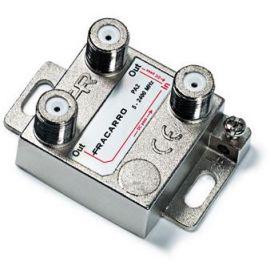 Fracarro 280701 PA2 Splitter 2-voudig 5-2400 MHz op=op