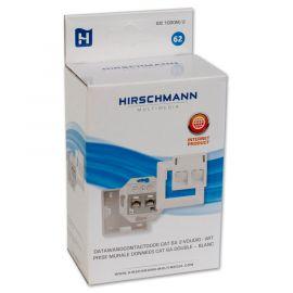 Hirschmann IDC 1000M2 Shop Data wcd 2x RJ 45, inbouw