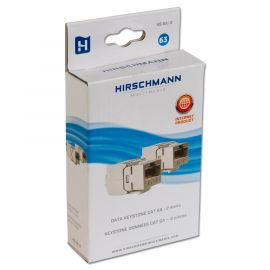 Hirschmann KS 6A/2 shop Keystone CAT 6A, RJ 45 , 2 st