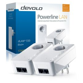 Devolo Dlan 550 Duo+ Starter Kit 9301 op=op