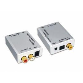 Ebode CV30RL Converter, digi coaxial S/PDIF naar analoog RCA