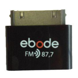 Ebode FM87 FM Plug-in voor IPhone Ipod/Ipad, FM 87,7 op=op