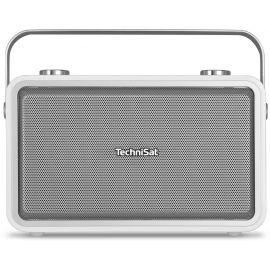 Technisat DigitRadio 225, White, DAB+/BT/AUX/Speaker/Alarm