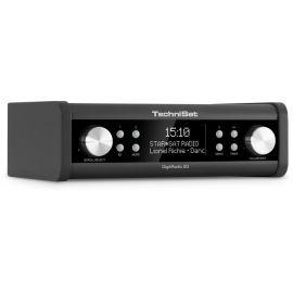 Technisat DigitRadio 20, Black, DAB+/AUX/Speaker/Clock