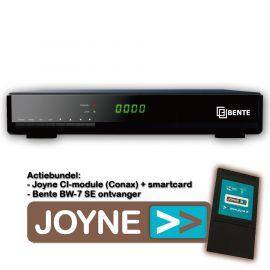 Bente BW-7 SE CISC DVB-S2 + Joyne CI Bundel