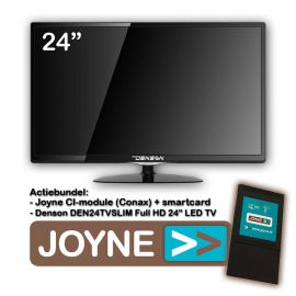 "Joyne bundel: Denson DEN24TVSLIM-MT 24"" LED TV"