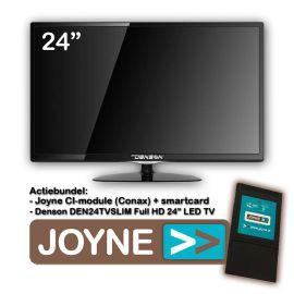 "Joyne bundel: Denson DEN24TVSLIM-MT 24"" LED TV"