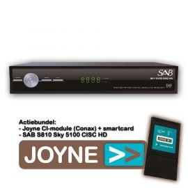 Joyne bundel: SAB S810 Sky 5100 CISC HD