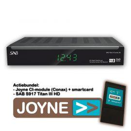 Joyne bundel: SAB S917 Titan III HD COMBO SE