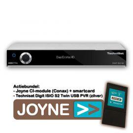 Joyne bundel: Technisat Digit ISIO S2 Twin USB PVR (zilver)
