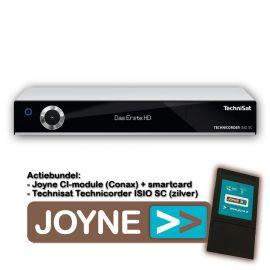 Joyne bundel: Technisat Technicorder ISIO SC Twin (zilver)