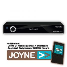 Joyne bundel: Technisat Technicorder ISIO SC Twin (zwart)