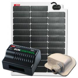 NDS SOLARFLEX EVO 50W Flexibel Zonnepaneel SET+SC300M op=op