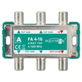 Polytron FA 4-16 TAP 4-voudig 16 dB