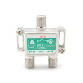 Polytron LIV2 F-splitter 2-voudig 5-1218 1.3 GHz DOCSIS 3.1