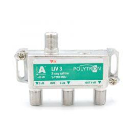 Polytron LIV3 F-splitter 3-voudig 5-1218 1.3 GHz DOCSIS 3.1