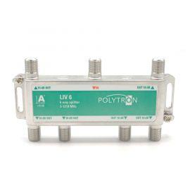 Polytron LIV6 F-splitter 6-voudig 5-1218 1.3 GHz DOCSIS 3.1