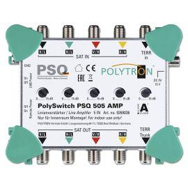 Polytron PSQ 505 AMP Multiswitch lijnversterker 5 in 5 uit