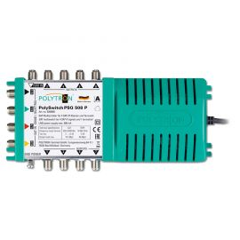 Polytron PSQ 508 P Multiswitch 5 in 8 uit, Quad&Quattro lnb