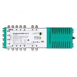 Polytron PSQ 512 P Multiswitch 5 in 12 uit, Quad&Quattro lnb