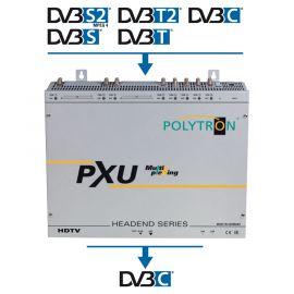 Polytron PXU 848C 4CI 8x8 Mux Compact Headend S2/T2/C>DVB-C