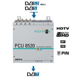 Polytron PCU8520 FTA Compact Headend DVB-S2 >DVB-T