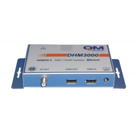 QM modulator DHM-3000 Digital HDMI > DVB-T MPEG4 Bluetooth