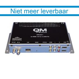 QM modulator SPM-2011 2xHDMI/AV > DVB-C/T *EOL zie DFL-100H*