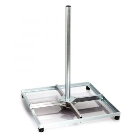 SAB Tegelvoet Demontabel 4x30x30,H75cm,LC electr gegalv.T002
