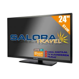 "Salora 24"" Travel TV CI DVB-S2/C/T2 12/230V"