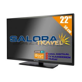 "Salora 22"" Travel TV CI DVB-S2/C/T2 12/230V"