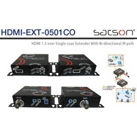 Satson HDMI-EXT-0501CO Set, HDMI over Coax