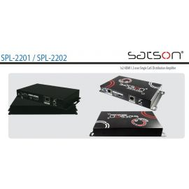 Satson HDMI-SPL-2202C, 1 CAT in/1 HDMI 15m+1 CAT 60m op=op