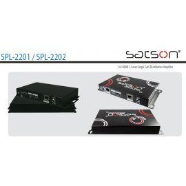 Satson HDMI-SPL-2201C, 1 HDMI in/1 HDMI 15m+1 CAT 60m op=op